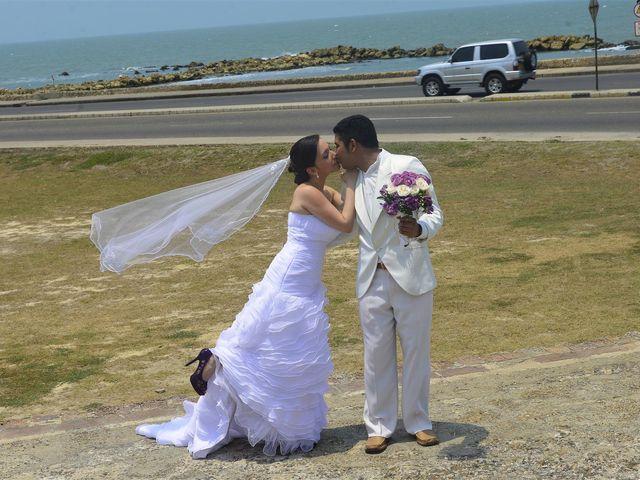 El matrimonio de Jhon y Loly en Cartagena, Bolívar 19