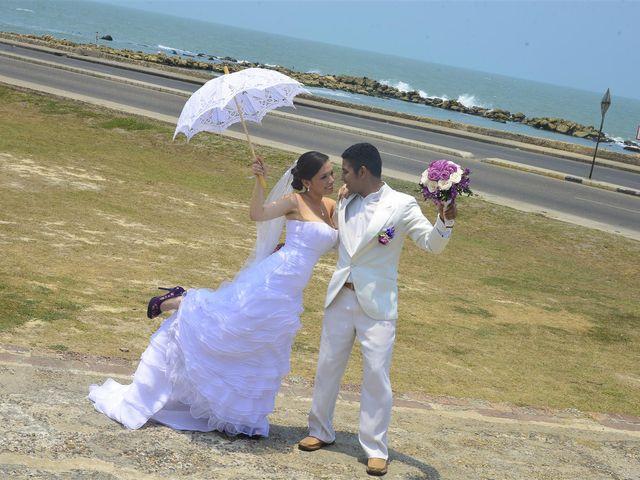 El matrimonio de Jhon y Loly en Cartagena, Bolívar 20