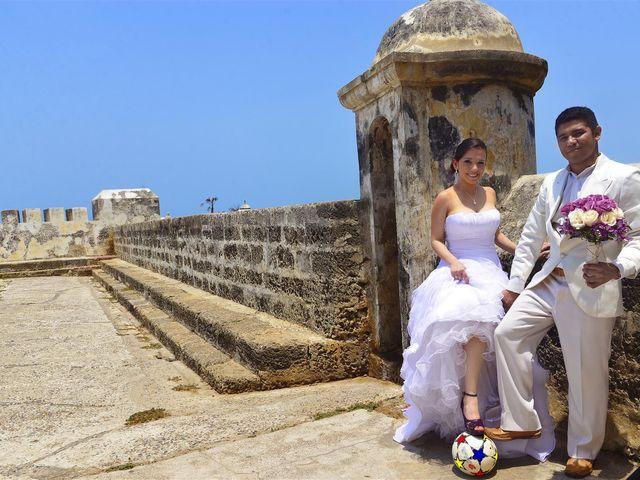 El matrimonio de Jhon y Loly en Cartagena, Bolívar 21
