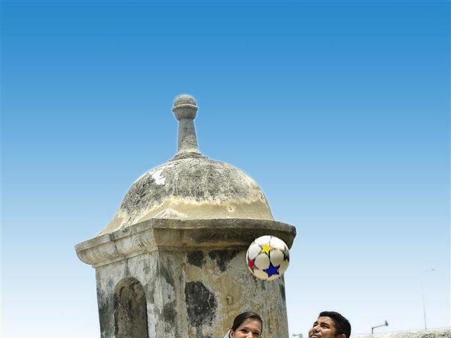 El matrimonio de Jhon y Loly en Cartagena, Bolívar 22