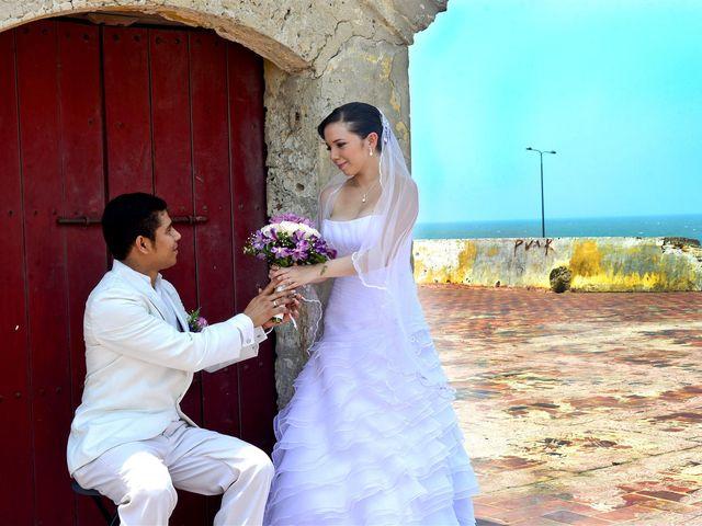 El matrimonio de Jhon y Loly en Cartagena, Bolívar 26