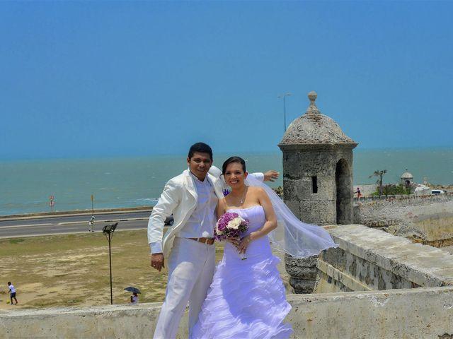 El matrimonio de Jhon y Loly en Cartagena, Bolívar 28