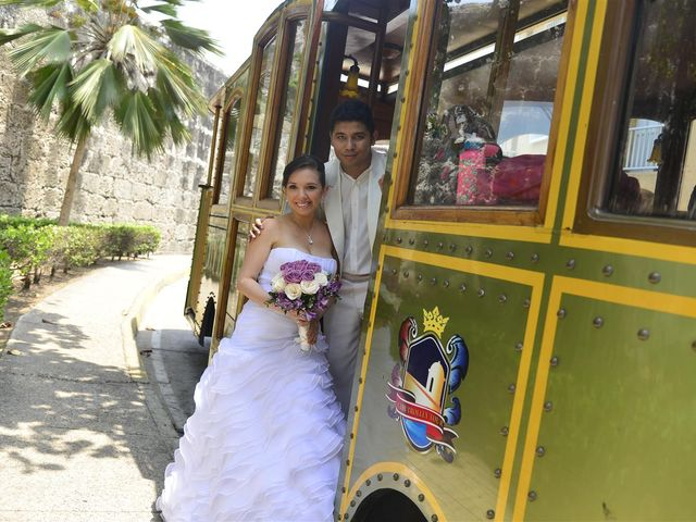 El matrimonio de Jhon y Loly en Cartagena, Bolívar 30