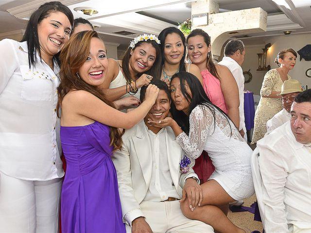 El matrimonio de Jhon y Loly en Cartagena, Bolívar 35