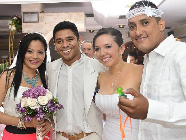 El matrimonio de Jhon y Loly en Cartagena, Bolívar 36