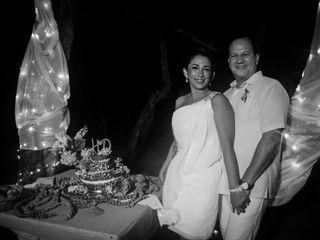 El matrimonio de Diana y Hernan