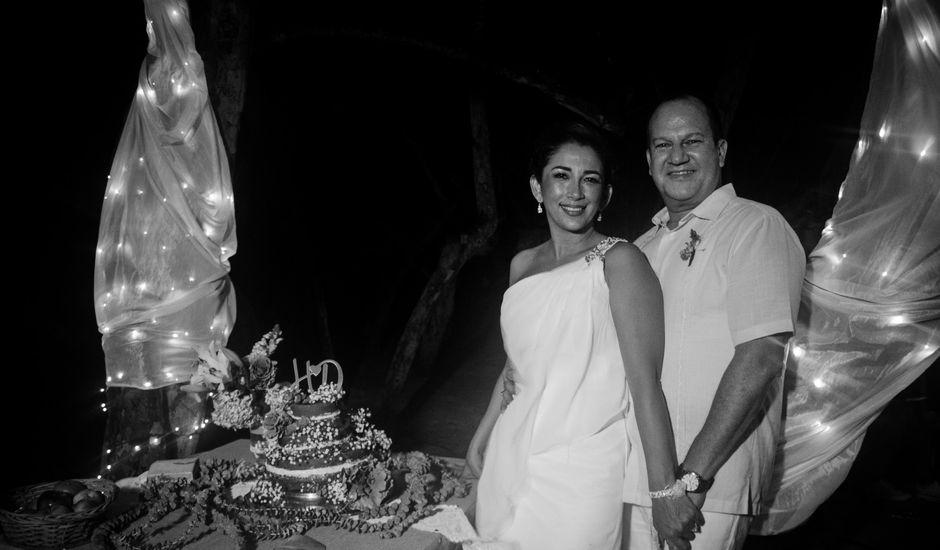 El matrimonio de Hernan y Diana en Santa Marta, Magdalena