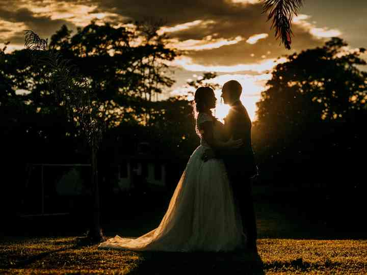 El matrimonio de Aleja y Billy