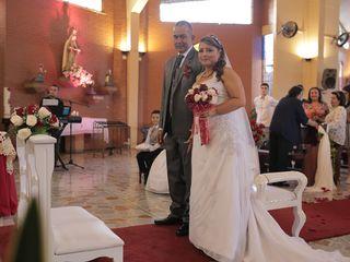 El matrimonio de MARIA  CRISTINA  y SAUL  1