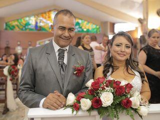 El matrimonio de MARIA  CRISTINA  y SAUL  2