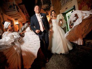 El matrimonio de Liliana y Curtis