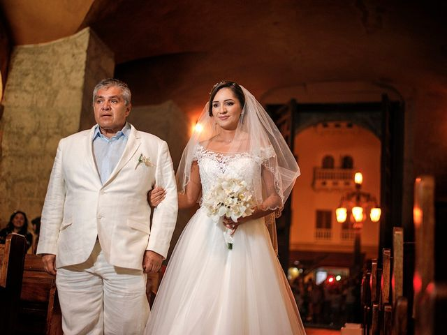 El matrimonio de Curtis y Liliana en Cartagena, Bolívar 35