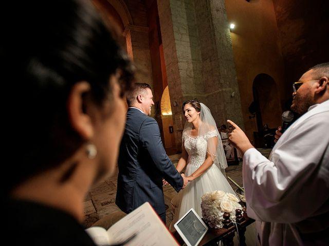 El matrimonio de Curtis y Liliana en Cartagena, Bolívar 36