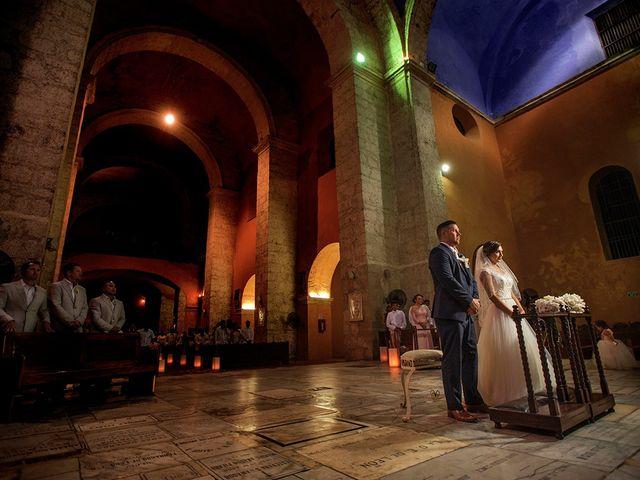 El matrimonio de Curtis y Liliana en Cartagena, Bolívar 39