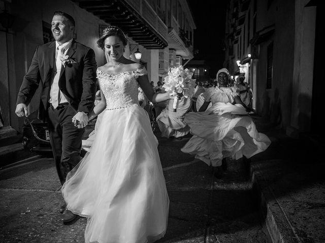El matrimonio de Curtis y Liliana en Cartagena, Bolívar 41