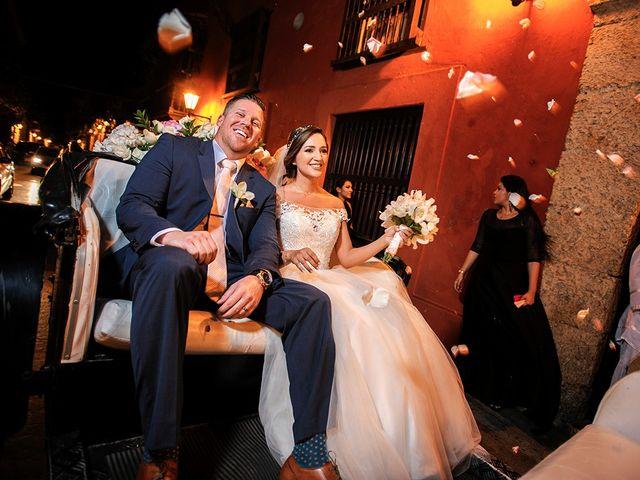 El matrimonio de Curtis y Liliana en Cartagena, Bolívar 42