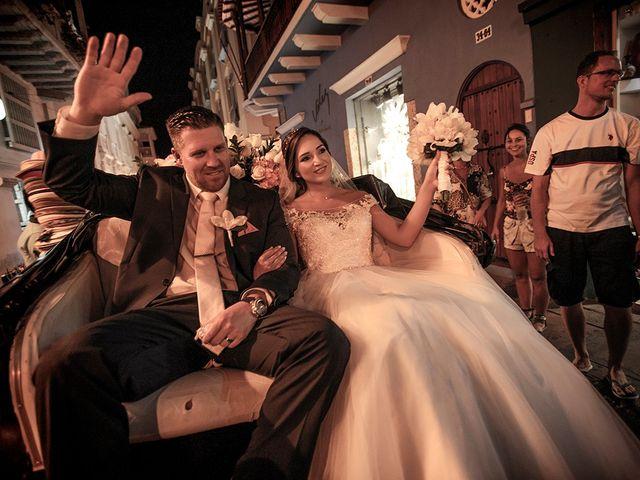 El matrimonio de Curtis y Liliana en Cartagena, Bolívar 43