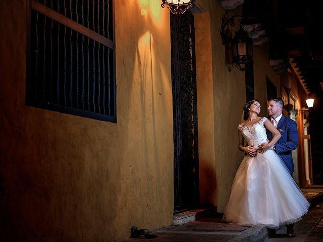 El matrimonio de Curtis y Liliana en Cartagena, Bolívar 44