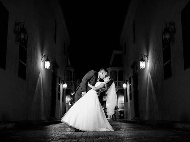 El matrimonio de Curtis y Liliana en Cartagena, Bolívar 45