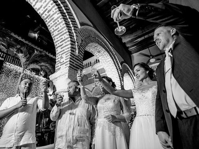 El matrimonio de Curtis y Liliana en Cartagena, Bolívar 56