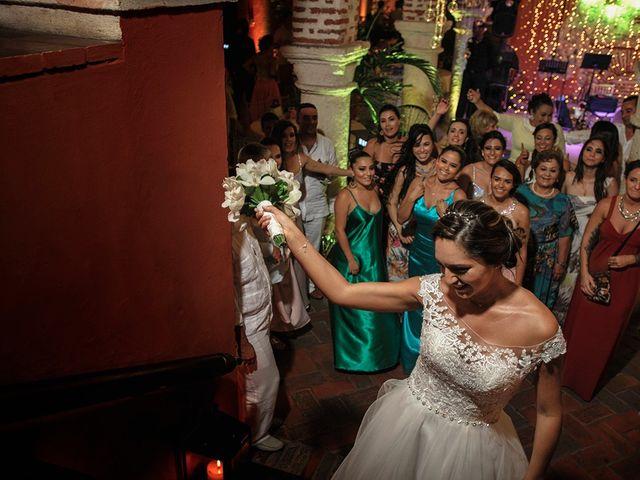 El matrimonio de Curtis y Liliana en Cartagena, Bolívar 64
