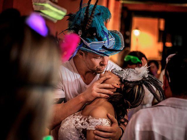 El matrimonio de Curtis y Liliana en Cartagena, Bolívar 71