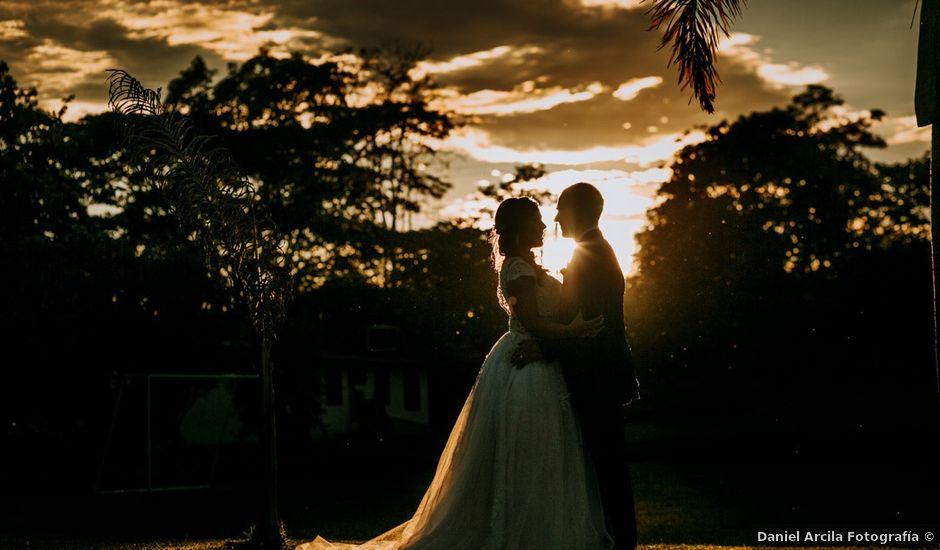 El matrimonio de Billy y Aleja en La Tebaida, Quindío