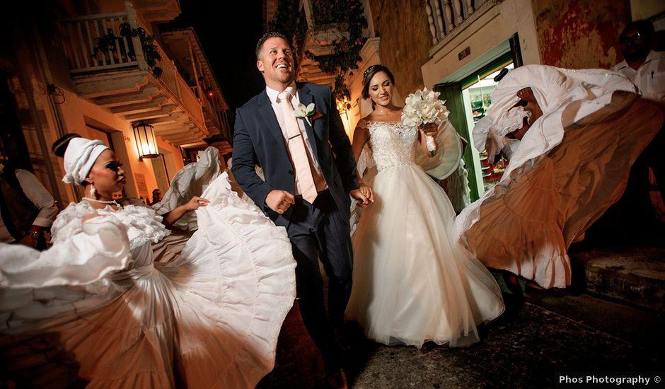 El matrimonio de Curtis y Liliana en Cartagena, Bolívar