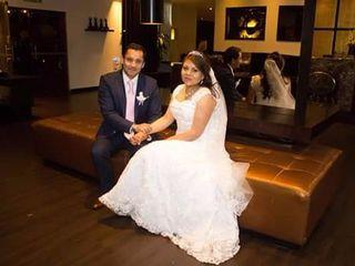 El matrimonio de Sandra y Andrés 1