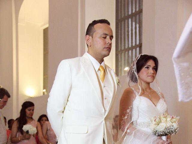 El matrimonio de Edgardo y Glenda en Cartagena, Bolívar 10