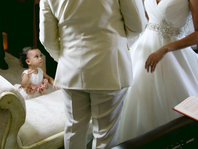 El matrimonio de Edgardo y Glenda en Cartagena, Bolívar 1