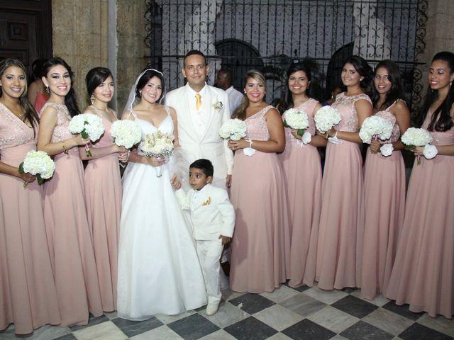 El matrimonio de Edgardo y Glenda en Cartagena, Bolívar 21