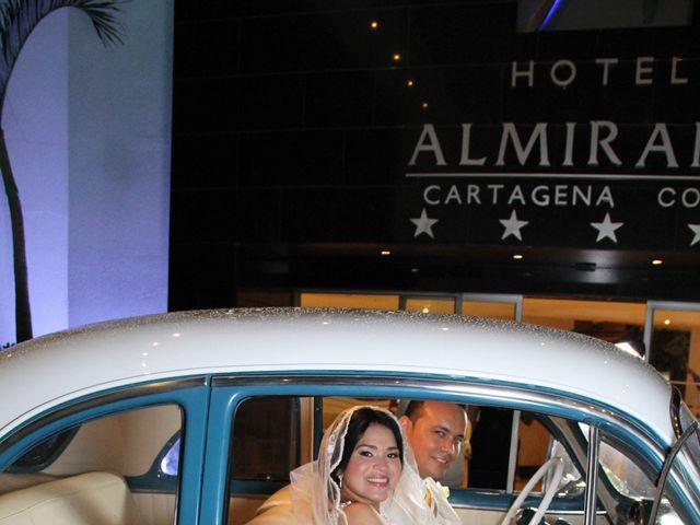 El matrimonio de Edgardo y Glenda en Cartagena, Bolívar 24