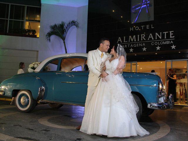 El matrimonio de Edgardo y Glenda en Cartagena, Bolívar 27