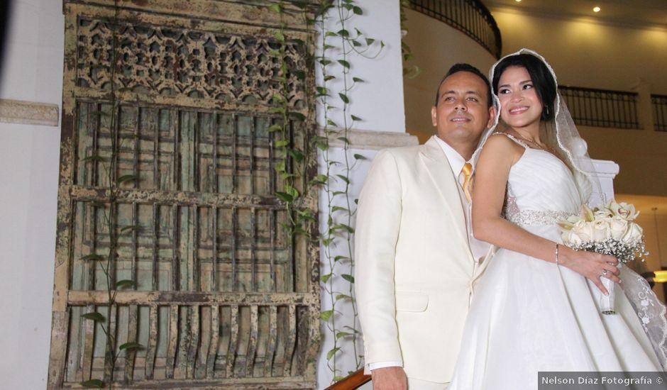 El matrimonio de Edgardo y Glenda en Cartagena, Bolívar