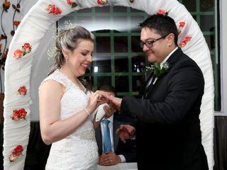 El matrimonio de Alfonso y María Alejandra