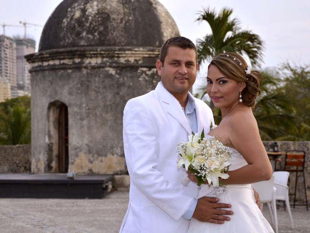 El matrimonio de Leonardo y Rossana