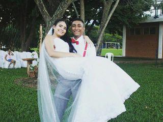 El matrimonio de Vanessa y Sebastian