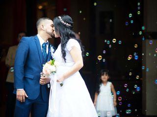 El matrimonio de Eliana  y John