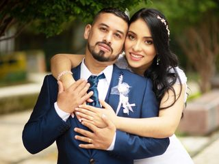 El matrimonio de Eliana  y John  2