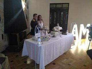 El matrimonio de Geraldine y Julian