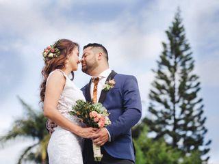 El matrimonio de Luz Adriana y Fredy