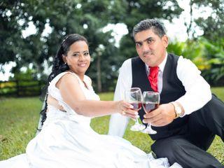 El matrimonio de Fernanda y Alberto