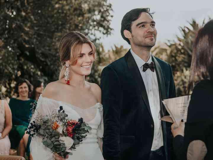 El matrimonio de Alejandra y Mauricio