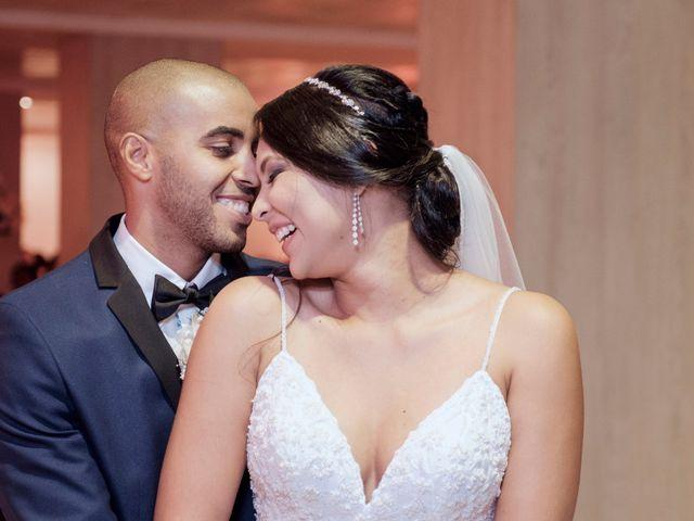 El matrimonio de Melina y Alexis