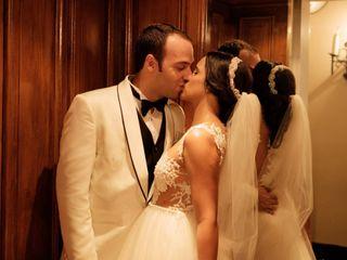 El matrimonio de Sara y Jean Carlo