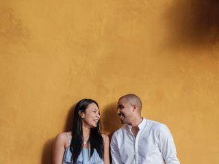 El matrimonio de Melina y Alexis 1