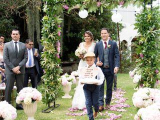 El matrimonio de Laura y Franks