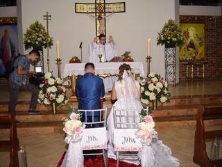 El matrimonio de Daniela  y Oscar 3