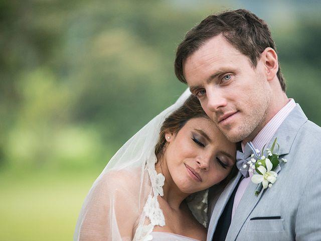 El matrimonio de Paulina y Steve